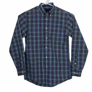 Lands' End Tailored Fit Supima Cotton Dress Shirt